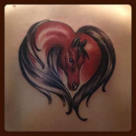 heartbeat horse head tattoo 222 best images about tattoos on pinterest wolves