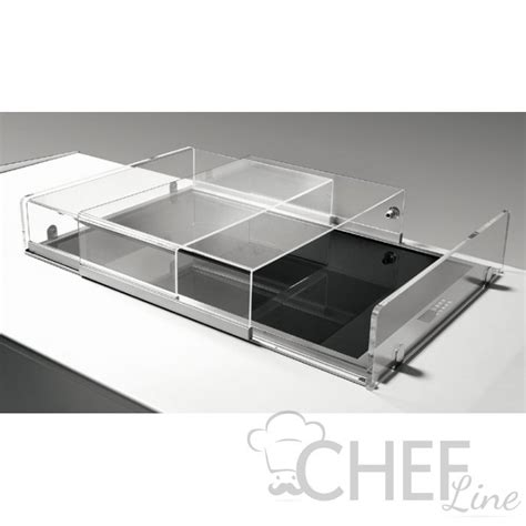 vasca plexiglass copertura plexiglass scorrevole per vasca refrigerata