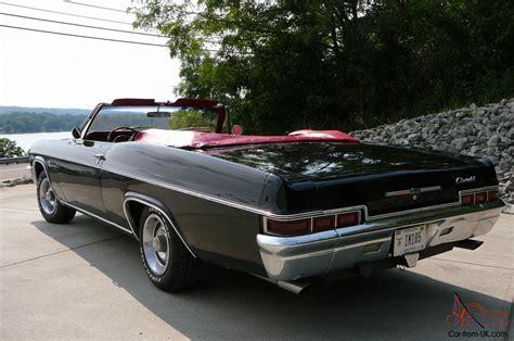 66 impala for sale 1966 chevrolet impala convertible ss 327 motor 66