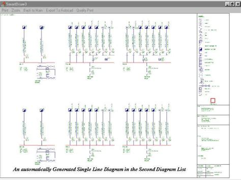 single line diagram autocad electrical electrical switchboard drawing software printerfree