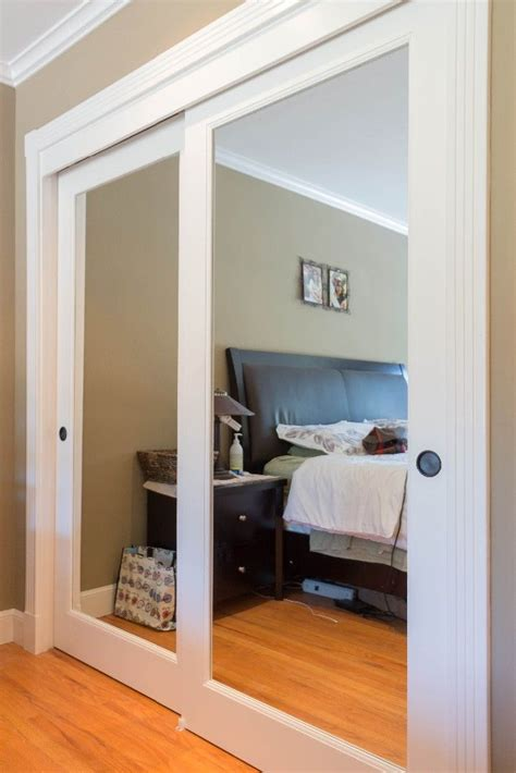sliding mirrored closet doors 25 best ideas about mirrored closet doors on small accordion closet doors and