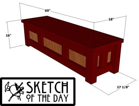 storage bench plan storage bench plans diy ideas pinterest