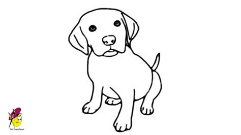 How To Draw A Dog How To Draw Dog Face [Simple] - Youtube ... Easy Dog Face Drawing