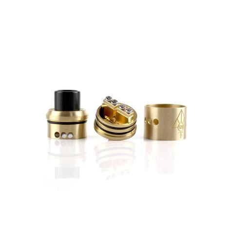 Goon 22 Authen Black Brass goon 22 528 custom vapes brass fumo bianco rosso