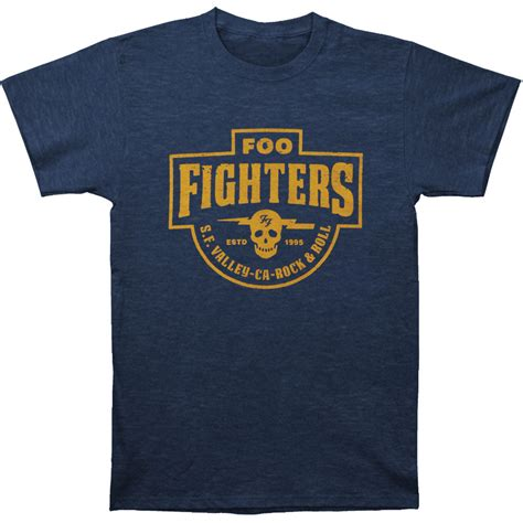 Foo Fighters Tshirt foo fighters s f valley slim fit t shirt rockabilia