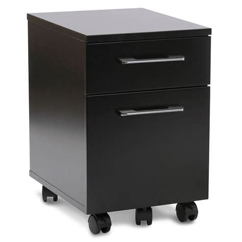 purcell modern black mobile file cabinet eurway modern