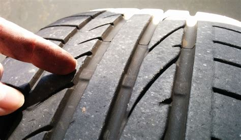 tire tread depths measuring the tire tread depth on an aston martin db9