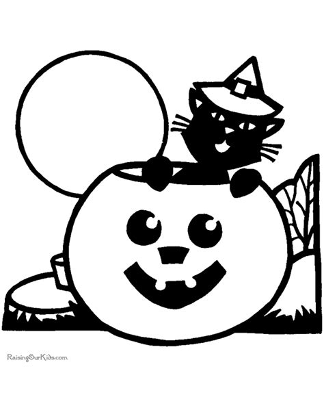 preschool halloween coloring pages to print free coloring pages of preschool halloween printables