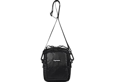 supreme bag supreme shoulder bag black
