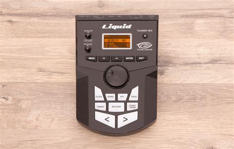tango drum pattern midi e drum drum sound modul liquid tango sx mit 642 sounds und