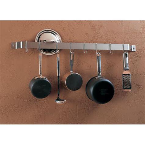 Bar Pot Rack by Wall Mount Bar Pot Rack In Home Decor