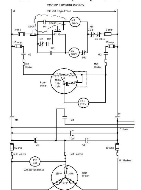 wiring diagram for capacitor for a single phase motor 28