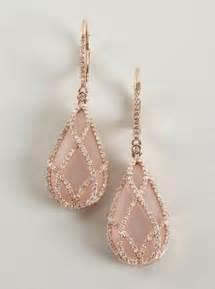 Blush Chandelier Earrings Pin By Miriam B On Random Pinterest