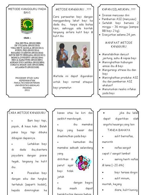 Metode Aborsi Padang Leaflet Metode Kangguru