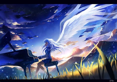 anime piano angel beats animenz piano sheets