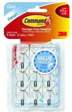 3m command 3 wire hooks w t 4 clear strips blue ace command fridge clips 6 clip command http www amazon com