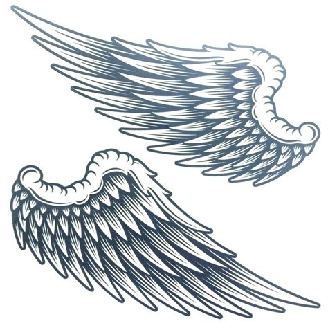 angel wings tattoo design clipart best