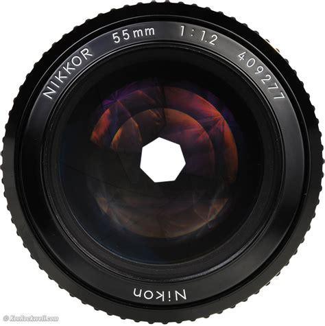 nikon 55mm f 1 2 review