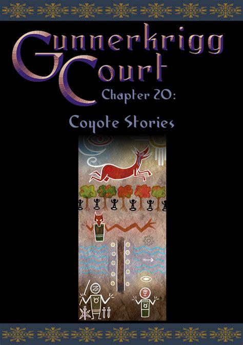 gunnerkrigg court vol 6 dissolve books chapter 20 coyote stories gunnerkrigg court wiki