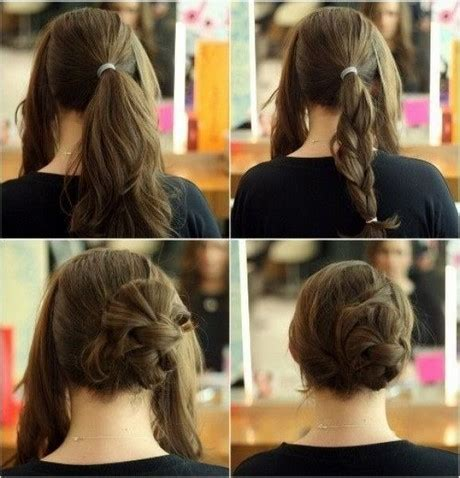 easy to do hairstyles at home simple hairstyles to do at home