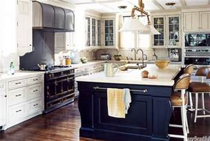 cooking islands for kitchens navy blue kitchen islands classic or trendy