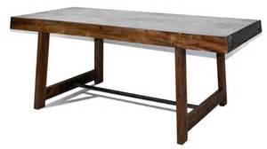 manchester table rectangulaire au style industriel