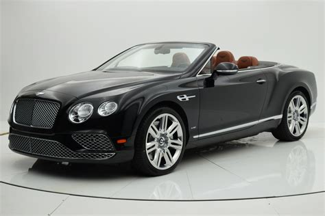 2016 bentley continental gt w12 convertible