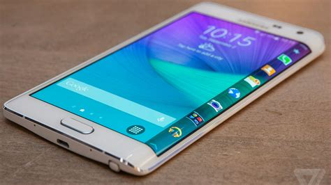 samsung 7 edge samsung s galaxy note edge is now available from verizon the verge