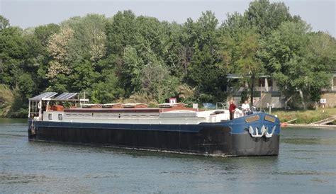 boat brokers france 1950 strasbourg peniche luxury french canal barge power
