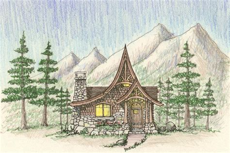 Storybook Cottage Plans | storybook style cottage house plans storybook houses of