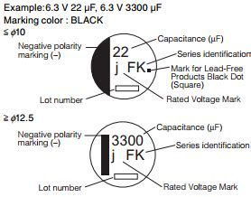 smd capacitor code pdf smd aluminum audio grade electrolytic capacitors eeefk1e471p 470uf 25v