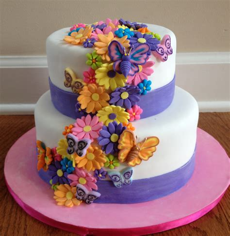 Birthday Cake by Flower Cakes Decoration Ideas Birthday Cakes