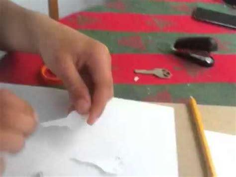 How To Make A Paper Key - how to make a paper key part 2