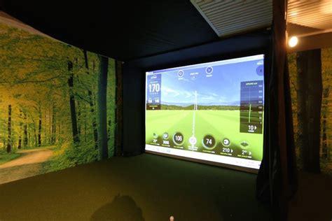 skytrak your own home golf simulator