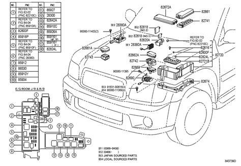 2004 toyota sequoia parts diagram 2004 toyota sequoia fuse box 28 wiring diagram images