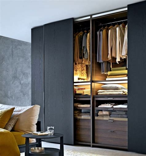 Interior Storage For Sliding Wardrobe Doors Wardrobe With Sliding Doors A Wonderful Storage Space Interior Design Ideas Ofdesign