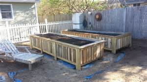 Hometalk raised bed gardens from pallets