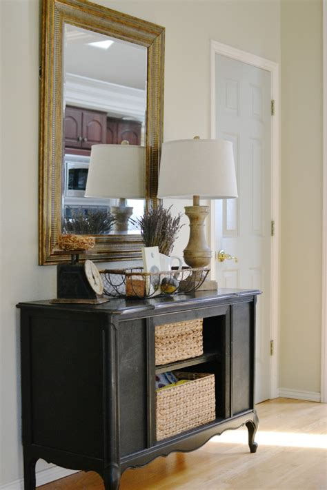 farmhouse style buffet table room for what you at the picket fence