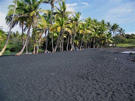 punaluu county beach park big island hawaii black sand punalu u black sand beach park at big island hawaii