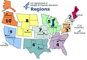 us map and regions sentinel physician regional map 2009 2010