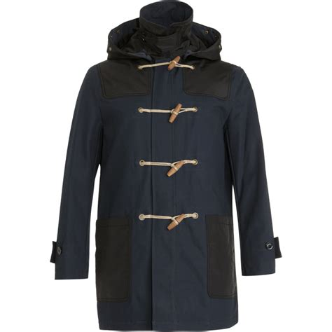 Sale Gucci 3in1 Ln6118 burberry brit toggle coat in blue for navy lyst