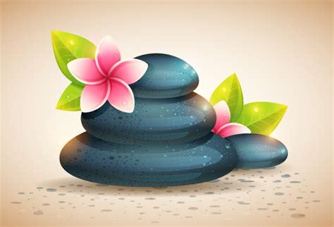 tutorial illustrator flower create detailed spa stones and flowers in adobe illustrator