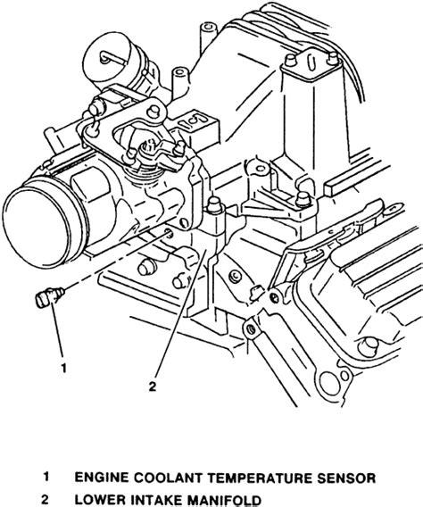 electronic throttle control 2000 pontiac grand prix transmission control repair guides electronic engine controls engine coolant temperature ect sensor