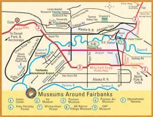 Fairbanks Alaska Map by Geography Blog Maps Fairbanks Alaska