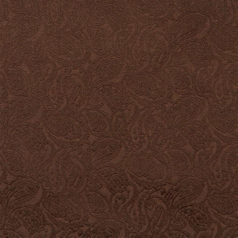 brown paisley upholstery fabric 54 quot quot e578 brown paisley jacquard woven upholstery grade
