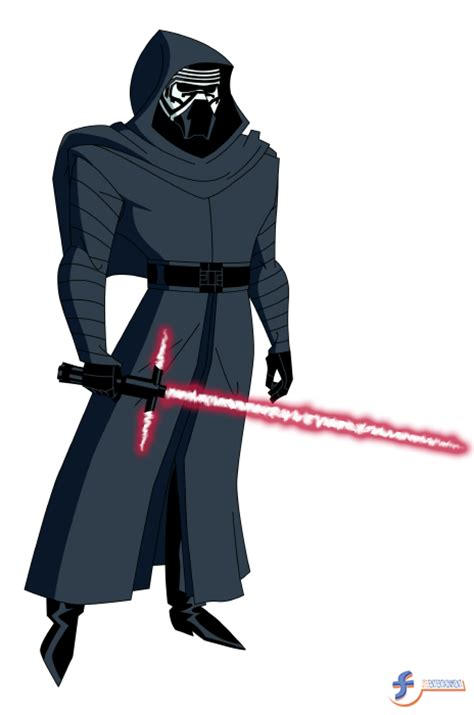 Tas Cw kylo ren dcau style by jtsentertainment on deviantart