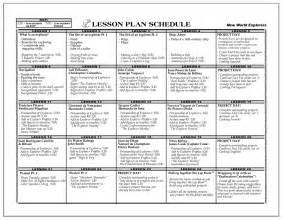 Universal Design Lesson Plan Template by Lesson Plan Images