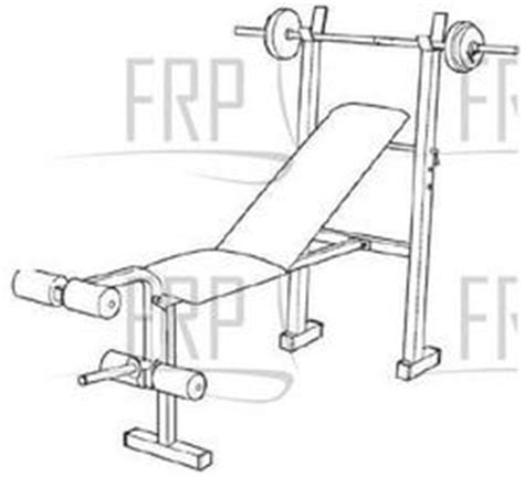 weight bench replacement parts weider 130 webe05920 fitness and exercise equipment