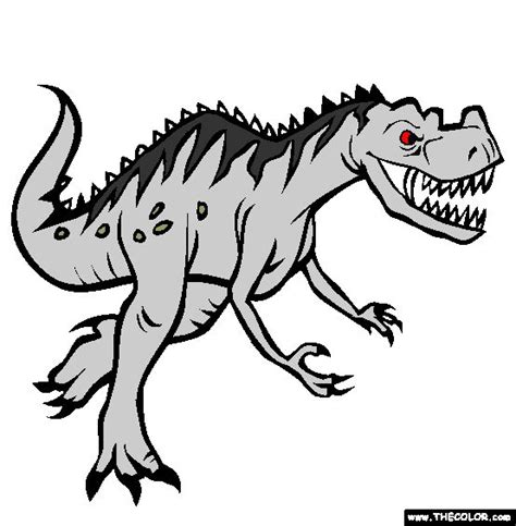 ceratosaurus coloring page doodles pinterest