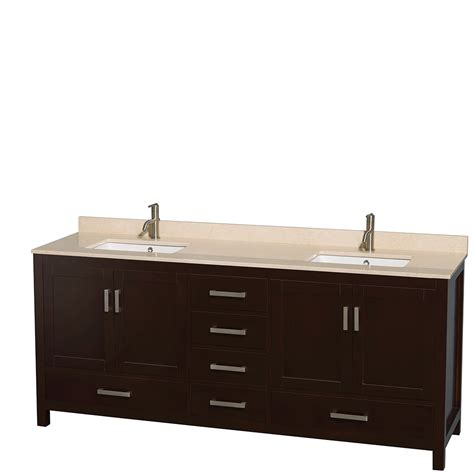 bathroom vanity no sink wyndham collection 80 inch double bathroom vanity in